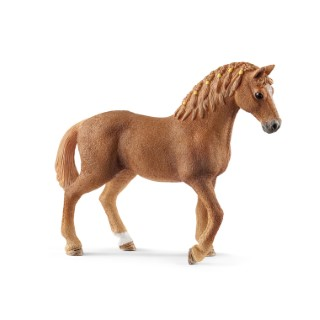 Figurine Jument Quarter Horse Série Horse club 12,5x3,5x10,5 cm 405821