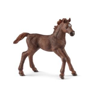 Figurine Poulain Pur-sang anglais Série Horse club 9x3,3x8 cm 405827