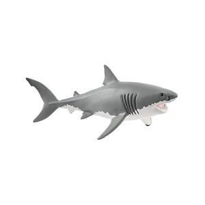Figurine Requin blanc Série Animaux sauvages 17,7x8x7,8 cm 405869