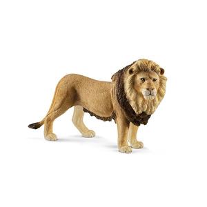 Figurine Lion Série Animaux sauvages 12x3,6x7,3 cm 405872