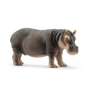 Figurine Hippopotame Série Animaux sauvages 12,8x4,7x6 cm 405874