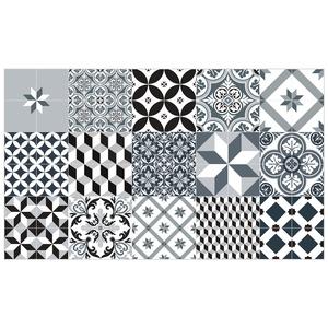 Paillasson mix et match petit format pour intérieur 97 x 58 cm 406134