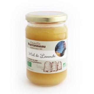 Miel de lavande bio - pot en verre de 375 g 406807