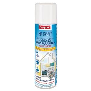 Spray et Diffuseur automatique Diméthicare stop parasites - 250 ml 407089