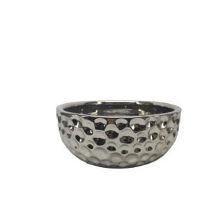Écuelle en céramique argentée 300 ml 407122