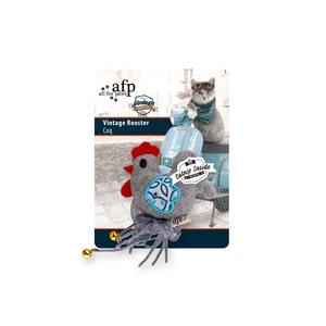 Peluche pour chat et chien Coq Vintage 9 cm 407178
