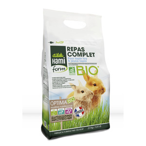 Premium optima bio pour lapin toy et lapereaux 2,5 kg 407218