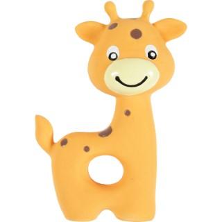 Jouet sonore pour chiot en latex Puppy girafe orange 7,5x3,5x10 cm 408138