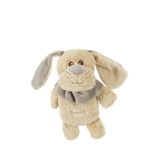 Jouet peluche nature Gabriel en coton beige 16x8,5x19,5 cm 408145