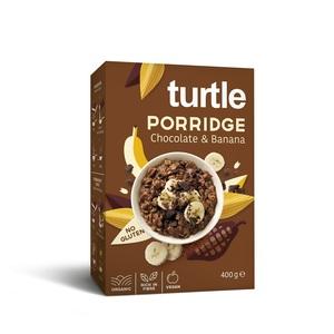 Porridge choco banane sans gluten bio - 400 g 408439
