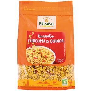 Granola au curcuma et quinoa bio en sachet de 450 g 408464
