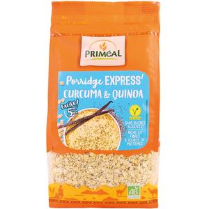 Porridge express au curcuma et quinoa bio en sachet de 350 g 408467