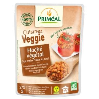 Haché végétal ail et persil bio en doypack de 250 g 408475