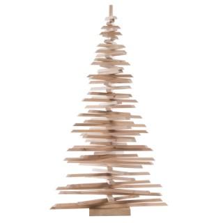 Sapin décoratif en bois - 105x52 cm 408509