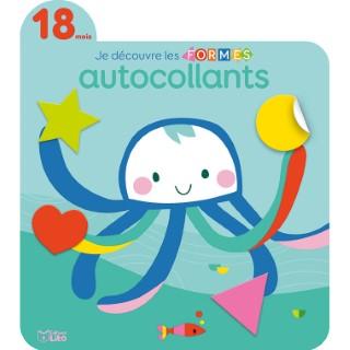 18 mois La Mer Je Découvre et Je Joue avec les Formes en Autocollants 18 mois Éditions Lito 408618
