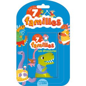 Les Dinosaures Jeux de 7 Familles 5 ans Éditions Lito 408625