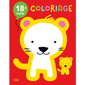 Les Bébés Animaux Mon Premier Bloc de Coloriage 18 mois Éditions Lito 408634