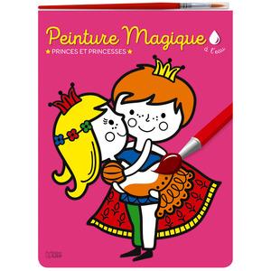 Princes et Princesses Peinture Magique à l'Eau Mon Bloc Magique 3 ans Éditions Lito 408640
