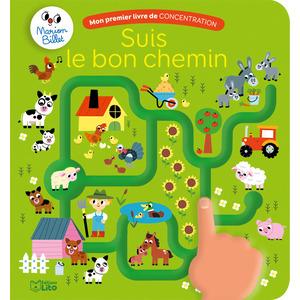 Suis le Bon Chemin Mon Premier Livre de Concentration 2 ans Éditions Lito 408658