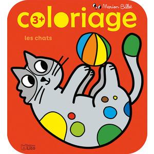 Coloriage Les Chats Coloriage des Tout-petits Marion Billet 3 ans Éditions Lito 408662