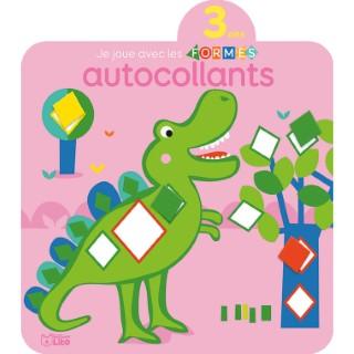 3 ans Les Dinosaures Je Découvre et Je Joue avec les Formes en Autocollants 3 ans Éditions Lito 408664