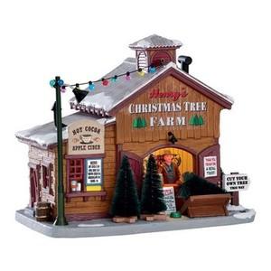 Maison Lumineuse Henry's Christmas Tree Farm 17x20x12,4 cm Bois 409159