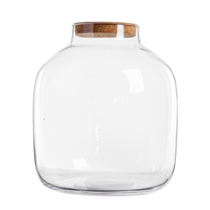 Vase Bonbonne S avec bouchon H 31 x Ø 25 cm 409596