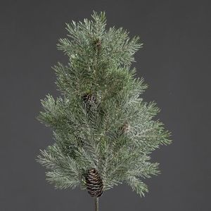 Branche glacée de sapin 62 cm 409797