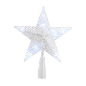 Cimier en étoile LED avec éclairage blanc pur 3 V 410412
