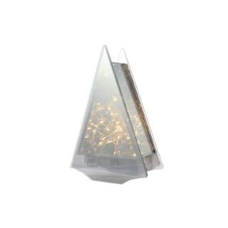 Sapin de verre à micro LED 410420