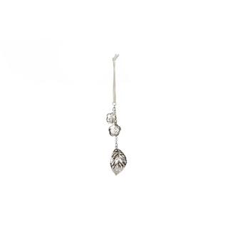 Figurine argent avec perles 410600