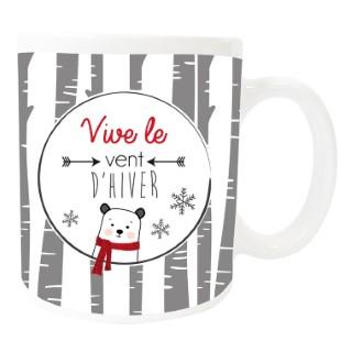 Mug « vive le vent » - 8x9.5 cm 411653