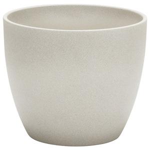 Cache-pot 920 Taupe stone Ø 19 x H 17 cm Céramique émaillée 411805