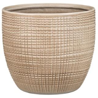 Cache-pot 866 Canela Ø 12 x H 10,7 cm Céramique émaillée 411815
