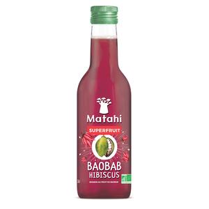 Superfruit Baobab/Hibiscus Bio en bouteille de 25 cl 412944