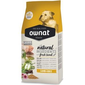 Croquettes pour chien Ownat Classic Lamb & Rice - 4 kg 413164
