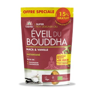 Éveil du bouddha au maca et à la vanille 360 g + 15 % offert 413382