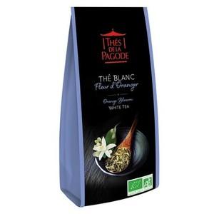 Thé blanc bio à la fleur d'oranger - sachet de 100 g 413385