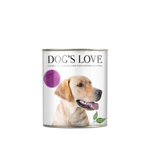 Pâtée naturelle pour chien à l'agneau - boite de 200 g 413502
