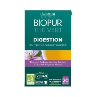 Thé vert digestion bio en boite de 20 sachets 413641