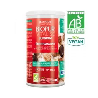 Supermix énergisant vitalise bio en boite 185 g 413674