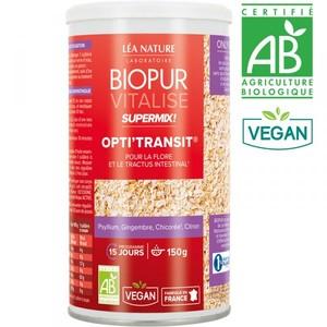 Supermix opti transit vitalise bio en boite 150 g 413676
