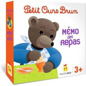 Petit Ours Brun Memo des Repas à partir de 3 ans Bayard Jeux 413812