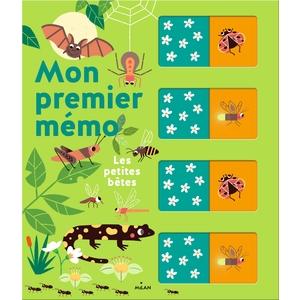 Les Petites Bêtes Mon Premier Mémo dès 2 ans Éditions Milan 413828