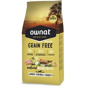Croquettes pour chiot Ownat grain free prime poulet et dinde 3 kg 413857