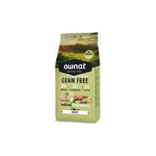 Croquettes pour chat Grain Free Prime Adult poulet et dinde 1 kg 413869