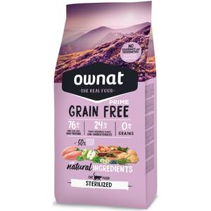 Croquettes pour chat stérilisé Grain Free Prime sterilized 1 kg 413872