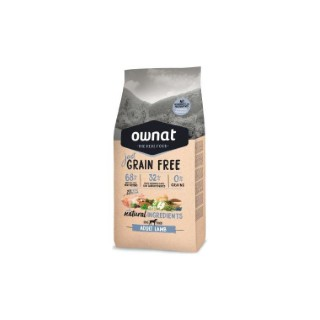 Ownat grain free just adult lamb pour chien – 14 kg 413895