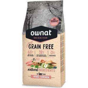 Croquettes pour chat Grain Free Just Adult au poulet 1 kg 413896