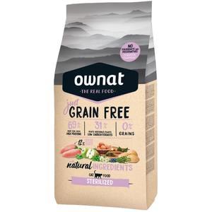 Croquettes pour chat stérilisé Grain Free Just sterilized 1 kg 413898